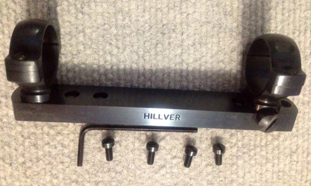 HILLVER BRIDGE MOUNT  Ruger Mod 96 lever / 10-22 (NEW)